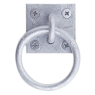 Tie Ring PLATE zinc-plated