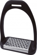 Composite stirrups with stainless steel treads