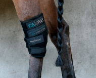 Horseware ICE-VIBE circulation therapy Hock Wrap