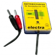 Electra Batterprüfer 12V LED